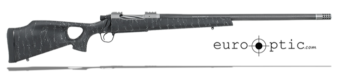 "Christensen Arms Summit Ti-TH .375 H&H 24"" Thumbhole Black W/Gray Webbing Rifle CA10269-R14521"