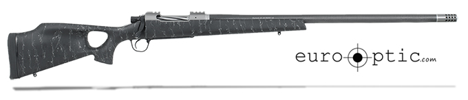 "Christensen Arms Summit Ti-TH 7mm Rem 26"" Thumbhole Black W/Gray Webbing Rifle CA10269-315321"
