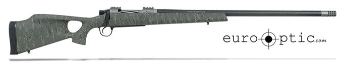 "Christensen Arms Summit Ti-TH 7mm Rem 26"" Thumbhole Green W/Black And Tan Webbing Rifle CA10269-315323"