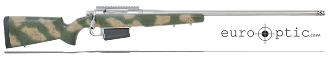 "Cooper Firearms M52 Open Country Long Range Green/Tan Camo, 7mm Rem Mag 26"" 1:9"" Fluted SS Bbl w/brake (Fits AICS Mags, Incl. 10MOA Rail)"