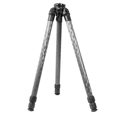 Crux Ordnance Carbon Fiber Tripod, 34 mm leg dia. 3 section with Leveling Bowl CO-007