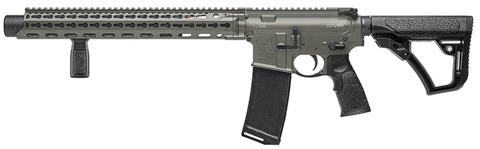 "Daniel Defense DDM4ISR .300 Blk (Integrally Suppressed) 9"" 1:8 Deep Woods Rifle 02-103-01056"