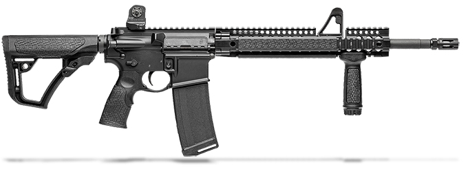 "Daniel Defense DDM4V1 5.56mm NATO 16"" 1:7 Black Rifle 02-050-15027"