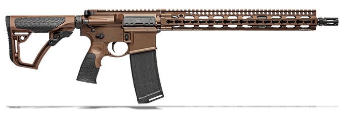 "Daniel Defense DDM4V11 5.56mm NATO 16"" 1:7 Mil Spec Brown Rifle 02-151-00257-047"