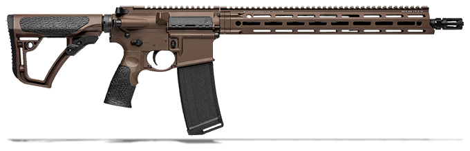 "Daniel Defense DDM4V7 5.56mm NATO 16"" 1:7 Mil Spec Brown Rifle 02-128-02338-047"