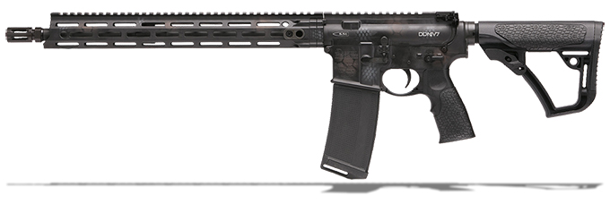 "Daniel Defense DDM4V7 5.56mm NATO 16"" 1:7 Rattlecan Rifle 02-128-02267-047"
