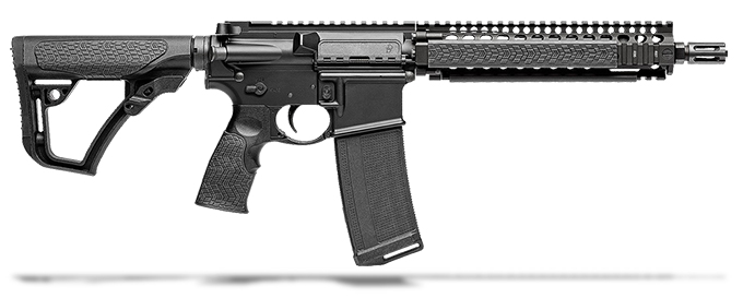 "Daniel Defense MK18 5.56 NATO 10.3"" 1:7 Barrel-Black RIS II Rifle 02-088-07327"