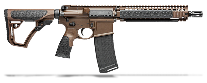 "Daniel Defense MK18 5.56 NATO 10.3"" 1:7 Mil Spec Brown Rifle 02-088-15028-011"