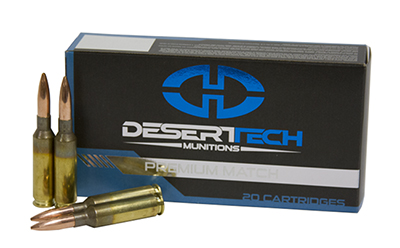Desert Tech 6.5 Creedmoor 20rd PTS Match DTM-65CM-140GR