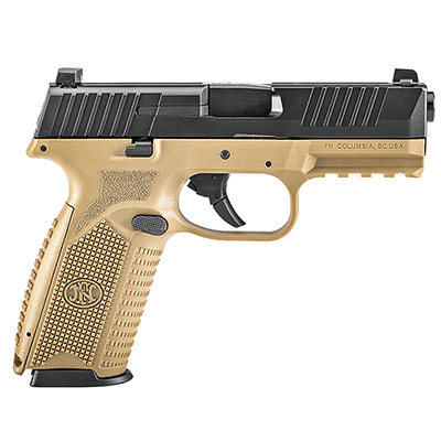 FN 509 NMS FDE/BLK DS 17rd 66-100357