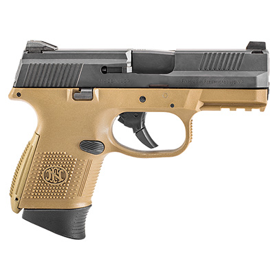 FNS-9C NMS FDE/BLK (2) 10rd 66-100355