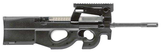 FN PS90 Standard Blk 10rd 3848950440