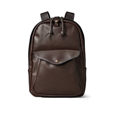 Filson Sierra Brown Weatherproof Journeyman Backpack 70398