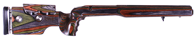 GRS Hybrid Rem 700 BDL LA Green Mountain Camo Stock 101364
