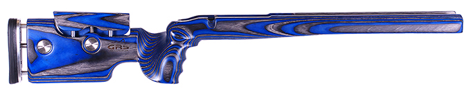 GRS Kelbly X Eater Tikka T3 Varmint/Tactical Black/Blue Stock 101944