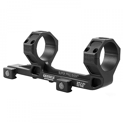 Geissele Super Precision Scope Mount 34MM Black (Schmidt & Bender 3-27), for SR-25 05-347B