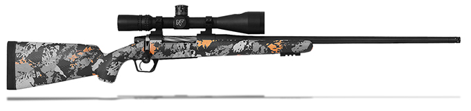Gunwerks LR1000 6.5-284 Norma Carbon Orange w/ Graphite Black Rifle