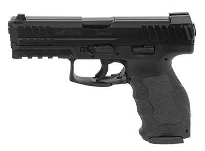 HK VP9, 9mm, three 10rd magazines and night sights MPN 700009LEL-A5