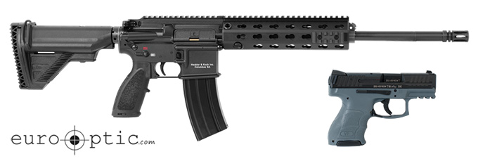 HK MR556A1 Rifle 5.56 MR556-A1 w/30rd mag, VP9SK Grey w/ (2) 10rd mags, & MR Explorer Case 91000010