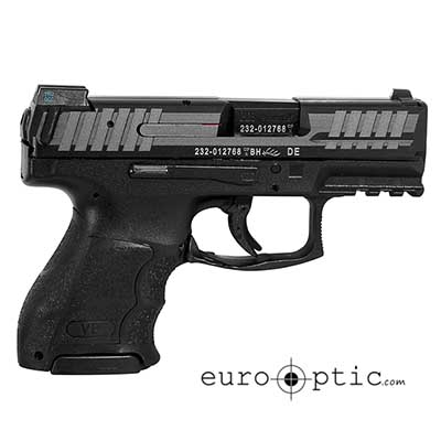 HK VP9 SK 9mm 1 flat & 2 Ext 10rd Night Sights 700009KLE-A5