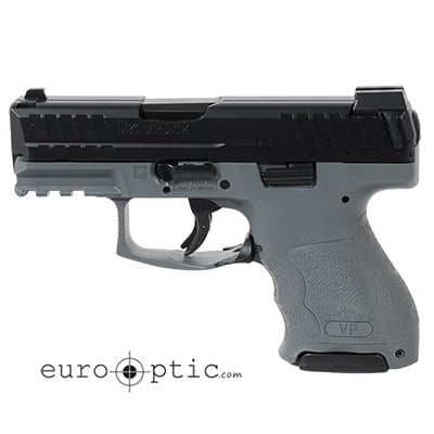 HK VP9SK Subcompact 9mm Grey (3) 10rd Magazines & Night Sights 81000100