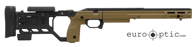 KRG Whiskey-3 Chassis Folding 700LA FDE Large Grips