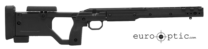 KRG 180-X-ray Chassis CZ455 Black