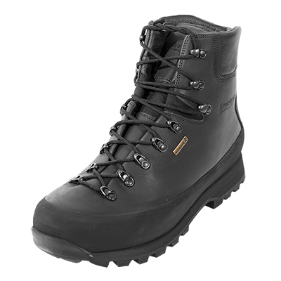 Kenetrek Hardscabble Hiker Black Mountain Boot Size 8 Medium Width KE-415-HK