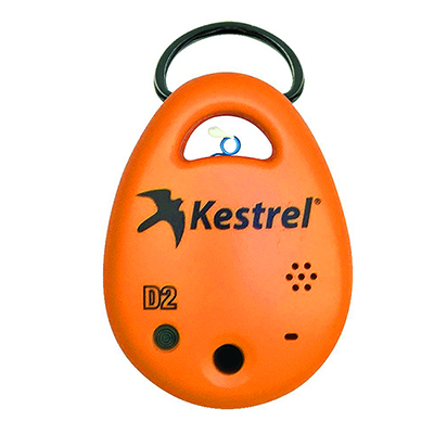 Kestrel DROP D2 Heat Stress Meter Orange 0720ORA 0720ORA