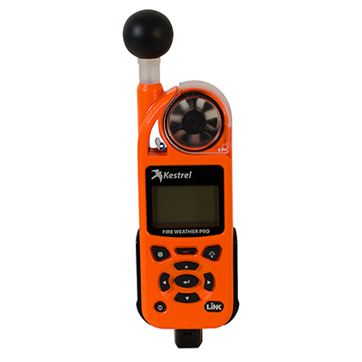 Kestrel Kestrel 5400FW Fire Weather Meter Pro WBGT with LiNK, Compass and Vane Mount 0854FWLVCORA