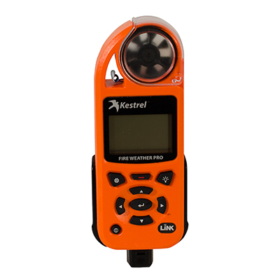 Kestrel 5500FW Fire Weather Meter Pro with LiNK + Vane Mount 0855FWLVORA