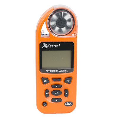 Kestrel Elite Blaze Orange Weather Meter with Applied Ballistics with LiNK 0857ALBLZ
