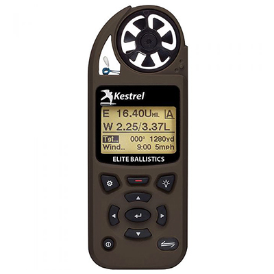 Kestrel Elite Weather Meter with Applied Ballistics with LiNK Flat Dark Earth 0857ALFDE Kestrel-0857ALFDE