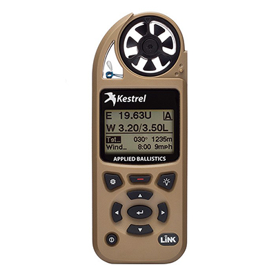 Kestrel 5700 Elite Weather Meter with Applied Ballistics with LiNK - Berry Compliant - Desert Tan 0857ALTANM