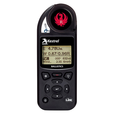 Ruger Kestrel 5700 Ballistic Weather Meter with LiNK 0857BLBLK-RUG