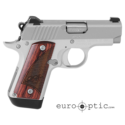 Kimber Micro Stainless Rosewood (NS) .380 ACP Pistol 3300207