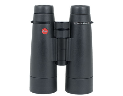 Leica Ultravid HD 12x50 Black Armor Binocular 40297 - Great Condition UA1180 40297
