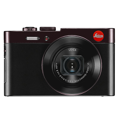 Leica C Dark Red Camera 18489