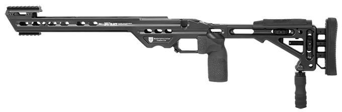 Masterpiece Arms BA Chassis Rem700 SA LH Black
