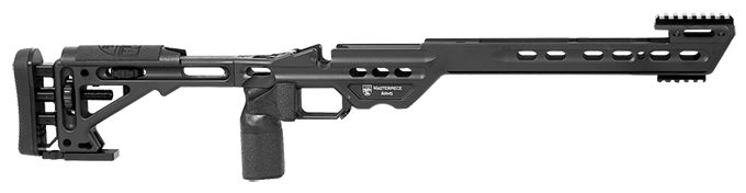 Masterpiece Arms Remington Short Action Right Hand Black BA Chassis