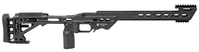 Masterpiece Arms Savage Short Action Right Hand Black BA Chassis