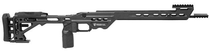 Masterpiece Arms Remington Long Action Right Hand Black Competition Chassis