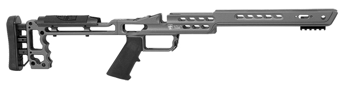 Masterpiece Arms Remington Short Action Left Hand Black Ultra Lite Chassis