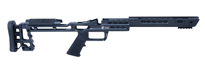 Masterpiece Arms Remington Short Action Right Hand Black Ultra Lite Chassis