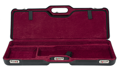Negrini Two Gun Case Hunting Competition Guns Low to Med Rib Black Red Interior 1670LR/4768