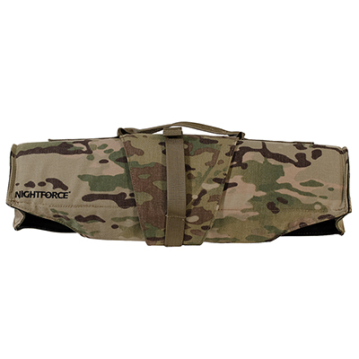 "Nightforce 19"" Multicam Padded Scope Cover A443"