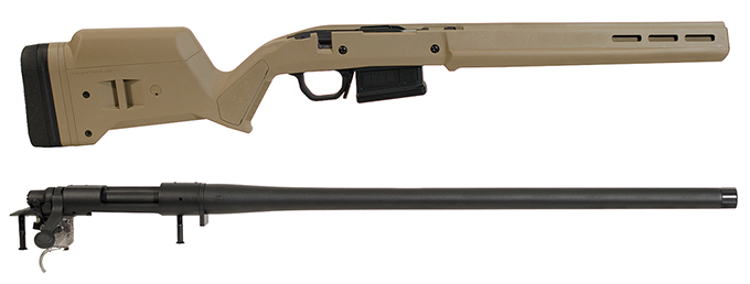 Remington 700SPS 6.5 Creedmoor w/Magpul Hunter Stock, Magpul DBM and 1 Magpul Mag (5rd) FDE