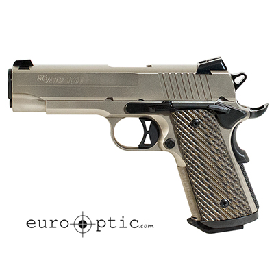 Sig Sauer 1911 Compact 45 ACP Brown Vector Grip 2 7 RD Mags