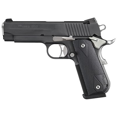 "Sig Sauer 1911 Fastback Nightmare Carry .357 Sig 4.2"" SAO (2) 8rd Mags 1911FCA-357-NMR"