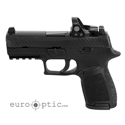 Sig Sauer P320 Compact 9mm 2 15 RD Mags Mini Reflex Sight
